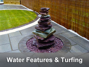 Water Features & Turfing